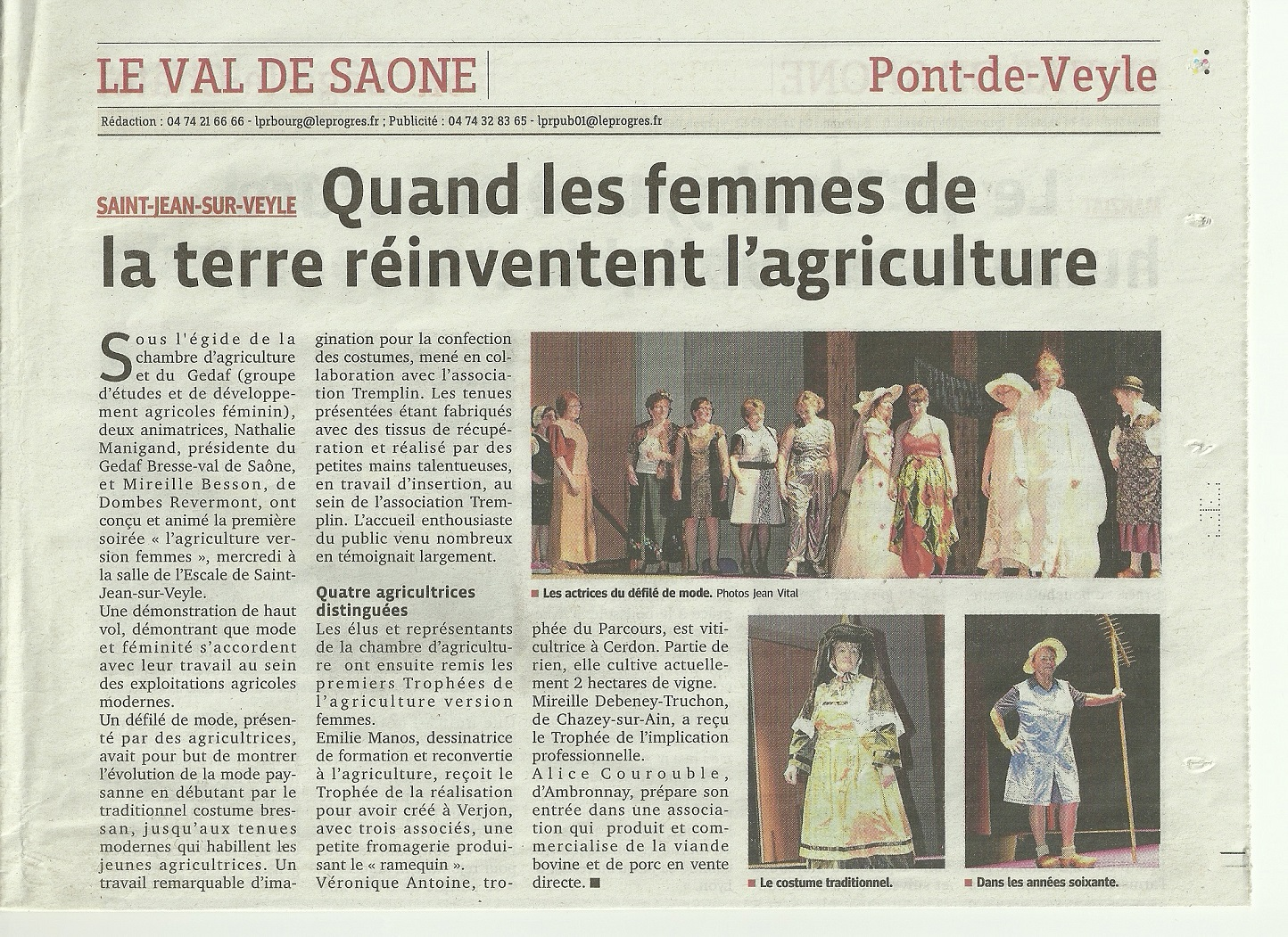 Rencontres femmes agricultrices